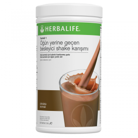 Herbalife çikolatalı shake