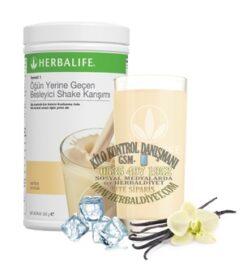 herbalife urunleri vanilya aromalı shake formul1