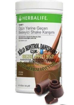 herbalife urunleri cikolata aromalı formul1 shake