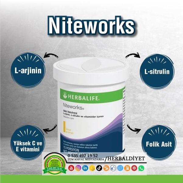 herbalife niteworks kalp ürünü